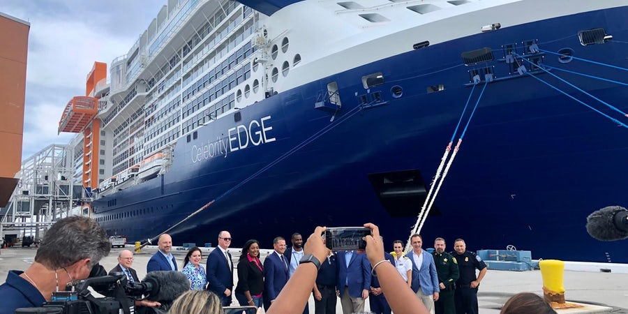 Celebrity Edge Sets Sail From Fort Lauderdale, Marking Cruise Industry Return In U.S.