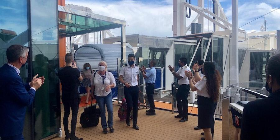 Passengers Boarding Celebrity Edge (Chris Gray Faust)