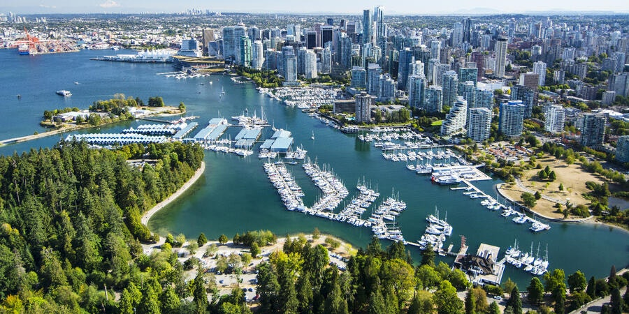 Vancouver, BC, Canada (Photo: Russ Heinl/Shutterstock)