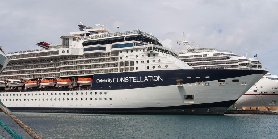 Exterior on Celebrity Constellation