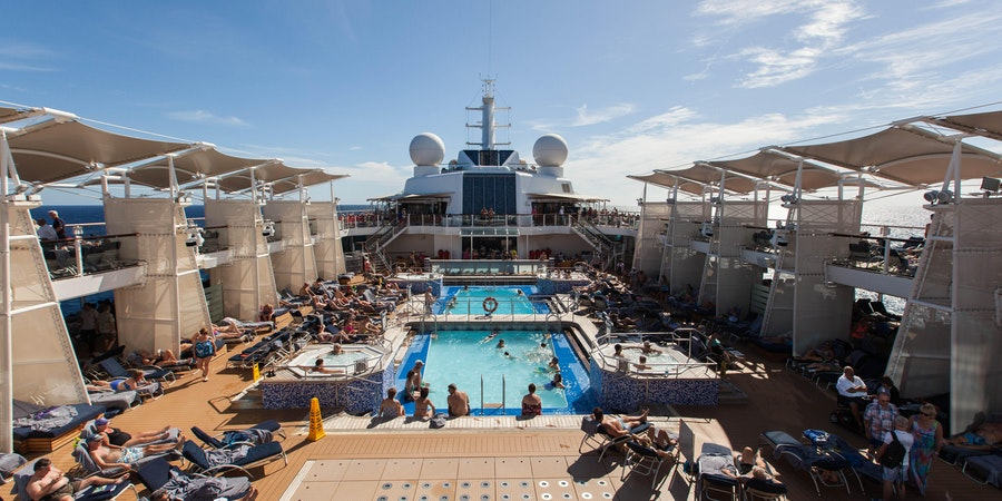 The Main Pool on Celebrity Equinox
