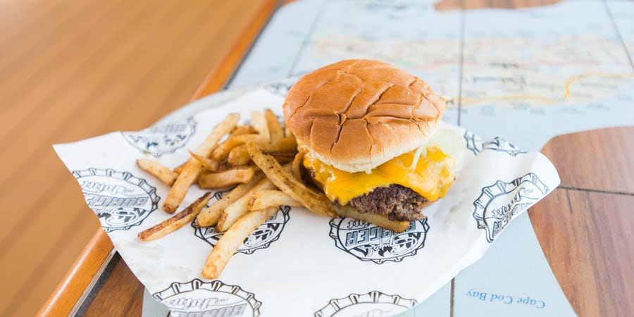 Guy's Burger Joint by Guy Fieri on Carnival Cruise Line (Plus Menu)