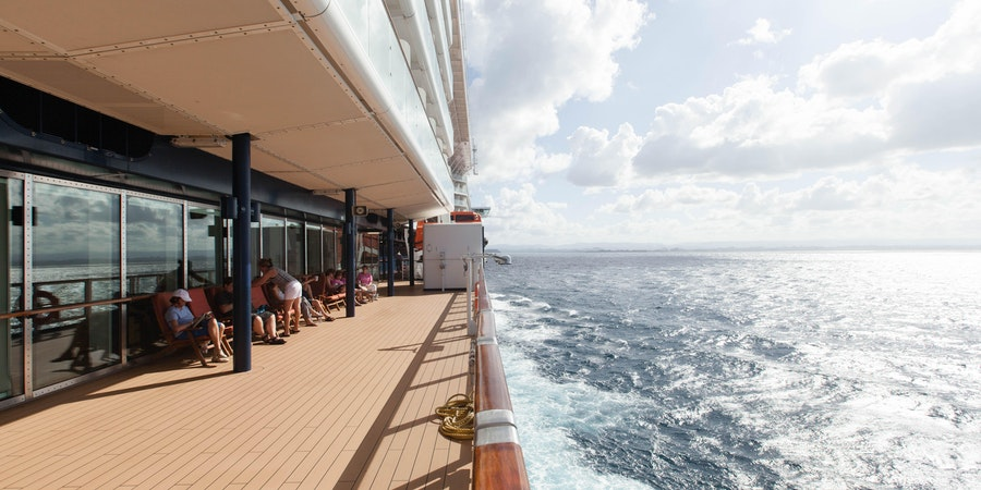 Exterior Deck on Celebrity Silhouette