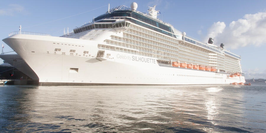 Exterior on Celebrity Silhouette