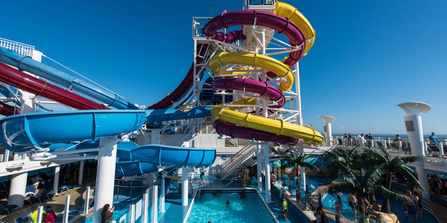 The Aqua Park on Norwegian Breakaway (Photo: Cruise Critic)