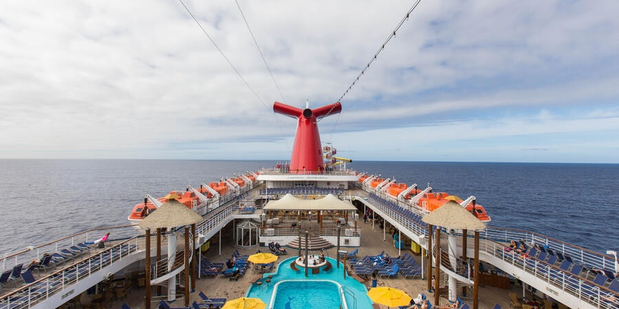 The Pool on Carnival Inspiration