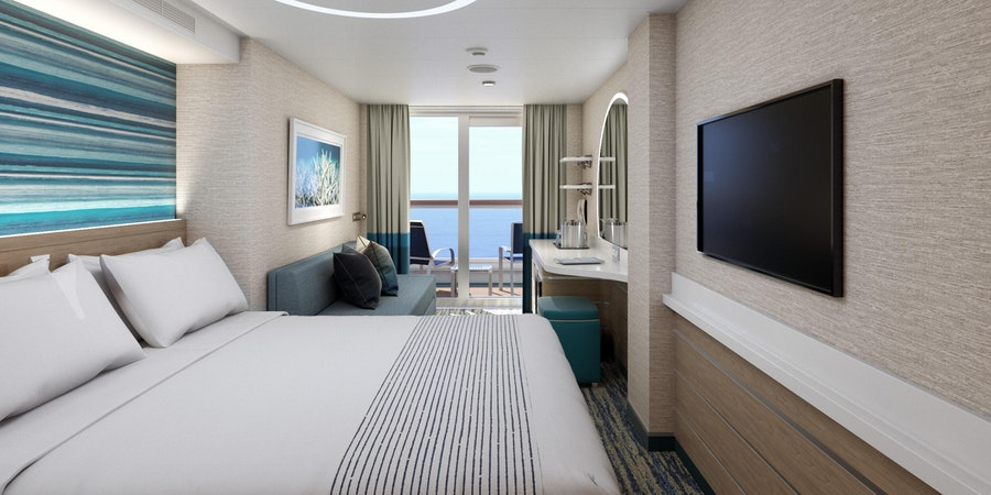 Balcony Cabin on Mardis Gras (Image: Carnival Cruise Line)