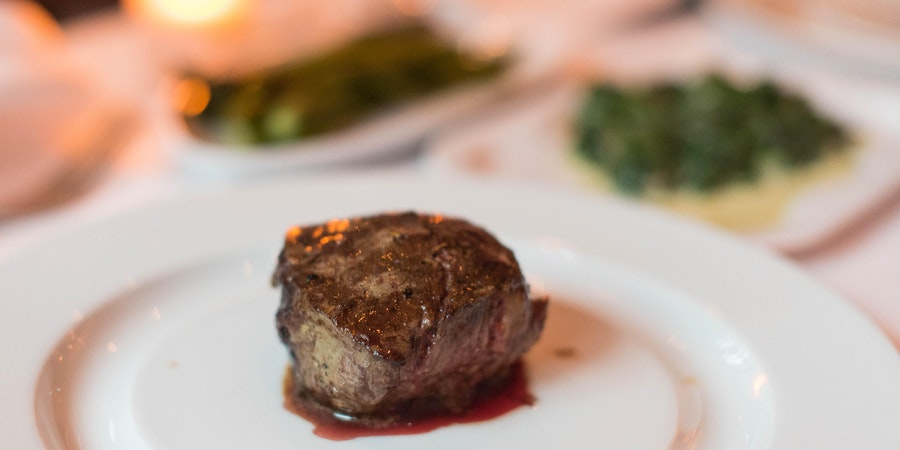 Steak at Chops Grille (Photo: Cruise Critic)