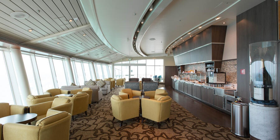The Diamond Club on Voyager of the Seas