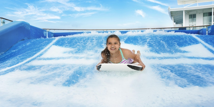 Royal Caribbean's Flowrider Surf Simulator (Photo: Royal Caribbean International)