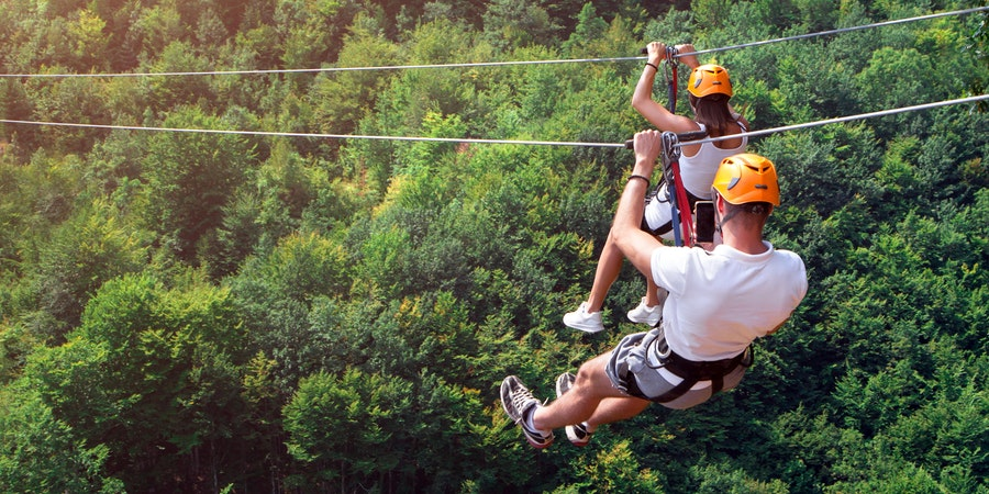 Best Cruise Ports for Ziplining