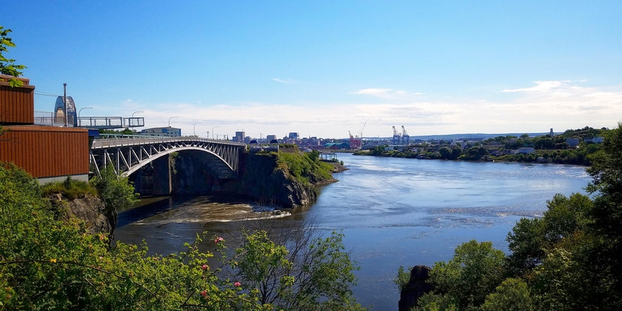 Reversing Falls in Saint John, New Brunswick (Photo: Mary Capriole/Shutterstock)