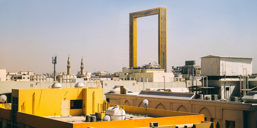 The Dubai Frame (Photo: Sabino Parente/Shutterstock.com)
