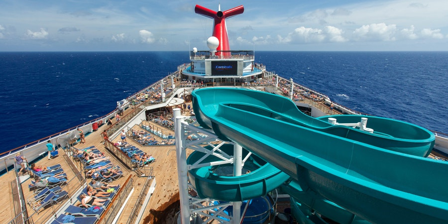 The Twister Waterslide on Carnival Valor (Photo: Cruise Critic)