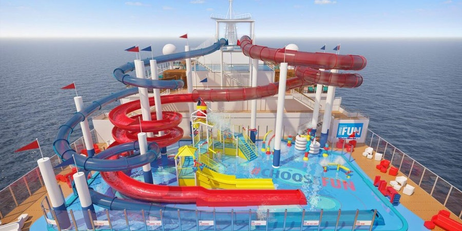 Shaq Shares Details about Choose Fun Water Park on New Cruise Ship Carnival Panorama