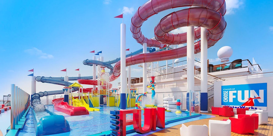 WaterWorks on Carnival Panorama (Image: Carnival Cruise Line)
