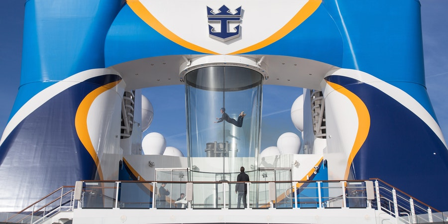 Skydiving on a Cruise Ship: We Try RipCord by iFly on Royal Caribbean's Anthem of the Seas