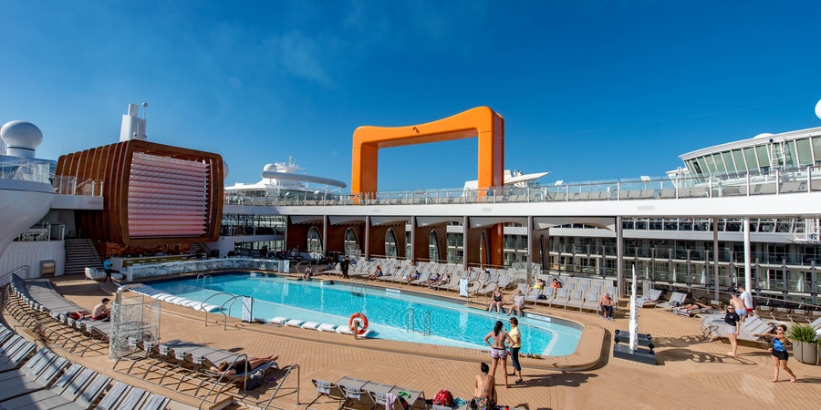 The main pool on Celebrity Edge (Photo: Cruise Critic)