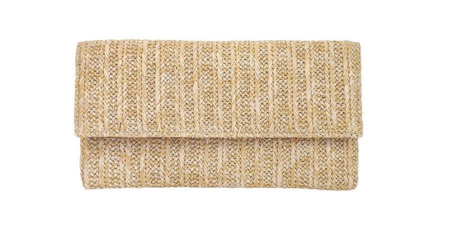 Straw Clutch (Photo: Amazon)
