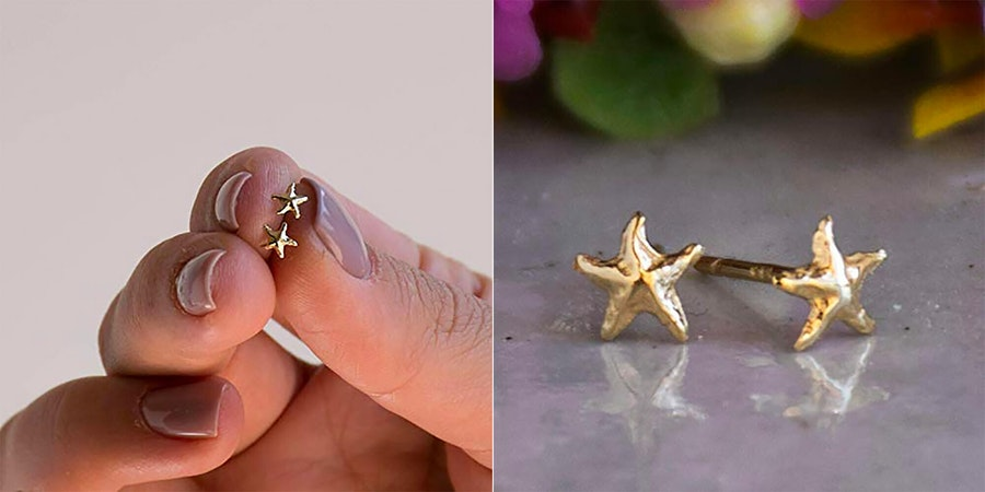 Starfish Earrings (Photo: Amazon)