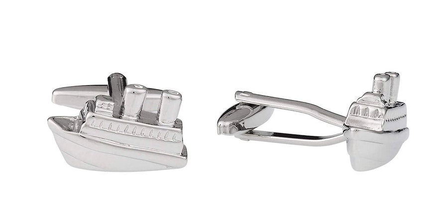 Men's Cruise Ship Cufflinks (Photo: Amazon)