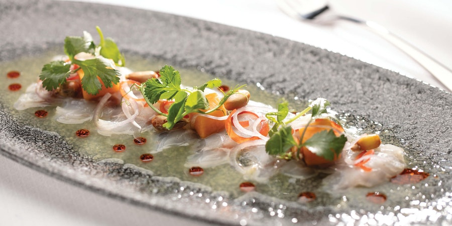 Hamachi Ceviche (Photo: Regent Seven Seas Cruises)