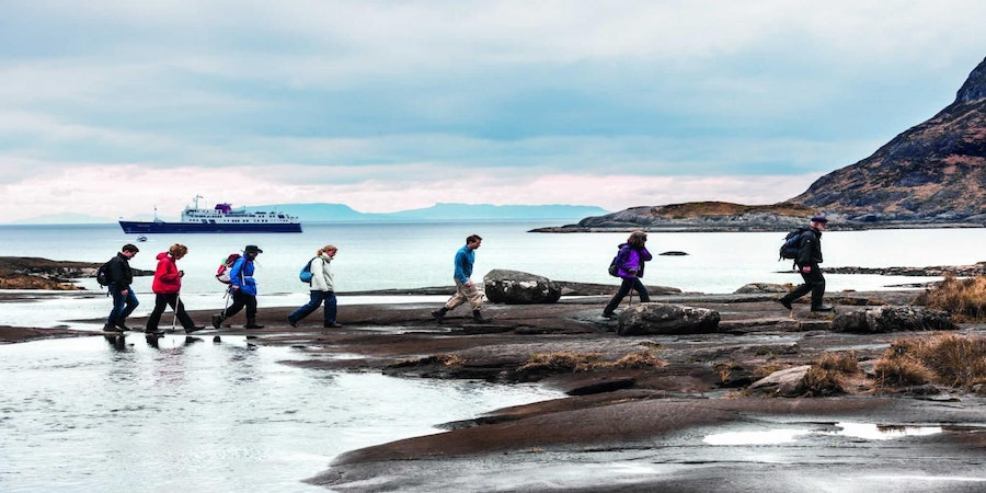 Passengers Exploring Ashore on Port (Photo: Hebridean Island Cruises)