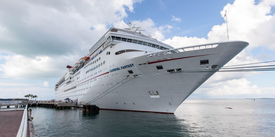 Ship Exterior on Carnival Fantasy