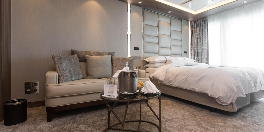 The Club Spa Suite on Azamara Journey (Photo: Cruise Critic)