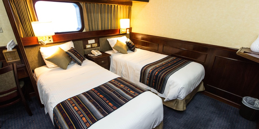The Category 4 Cabin on National Geographic Islander (Photo: Cruise Critic)