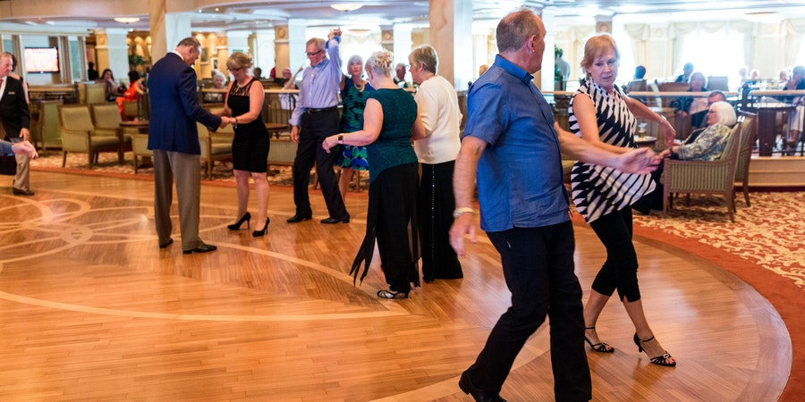 Dancing in the Queens Room on Queen Victoria (Photo: Cruise Critic)