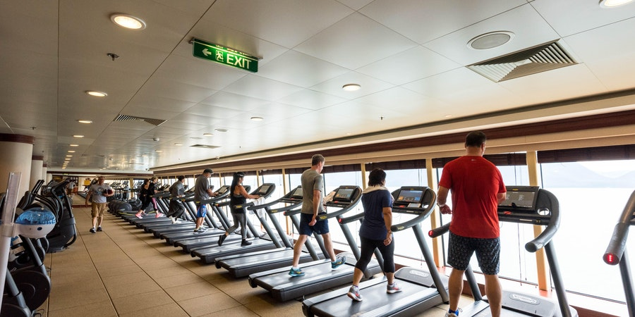What to Expect on a Cruise: Cruise Ship Gyms