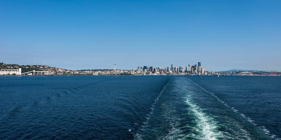 Seattle from sea (Photo: Cruise Critic)