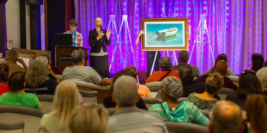 Cruise Ship Art: From Auctions to Appreciation