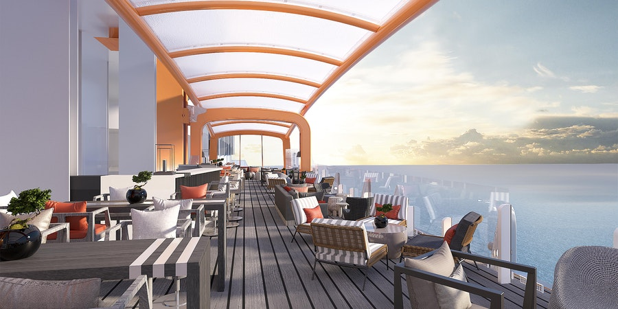 Celebrity Cruises' Magic Carpet on Celebrity Edge