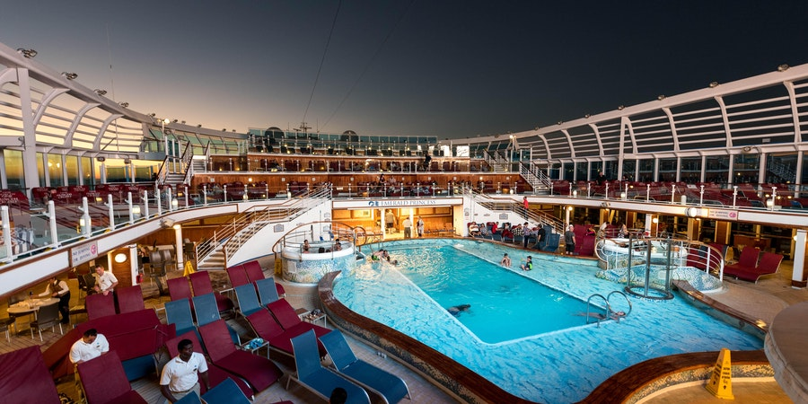 Emerald Princess' Movies Under the Stars (Photo: Cruise Critic)