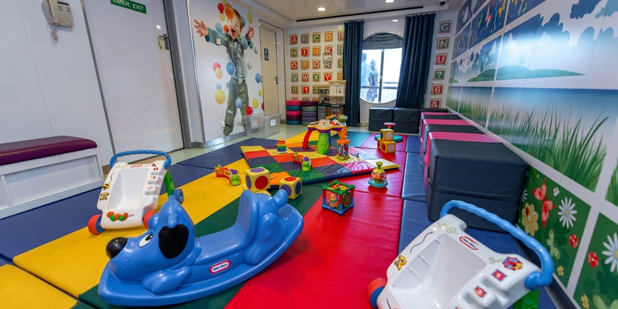 Guppies Playroom on Norwegian Dawn (Photo: Cruise Critc)