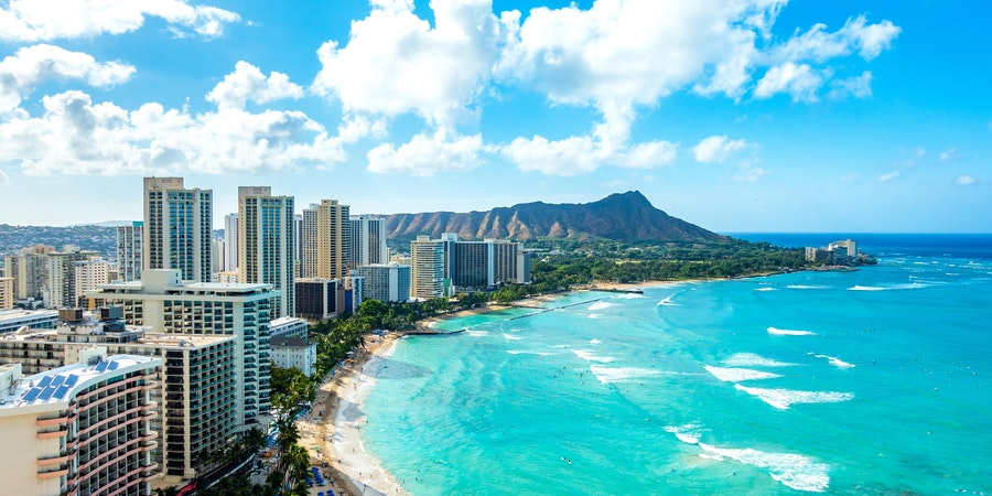Honolulu, Oahu island, Hawaii (Photo: okimo/Shutterstock)