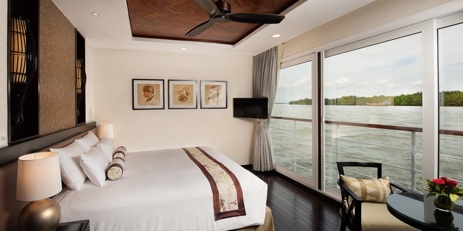 Suite on Avalon Saigon (Photo: Avalon Waterways)