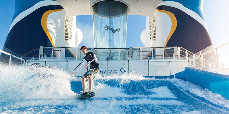 Anthem of the Seas FlowRider (Photo: Royal Caribbean)