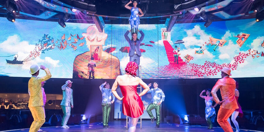 Cirque du Soleil on MSC's Meraviglia  (Photo: MSC)