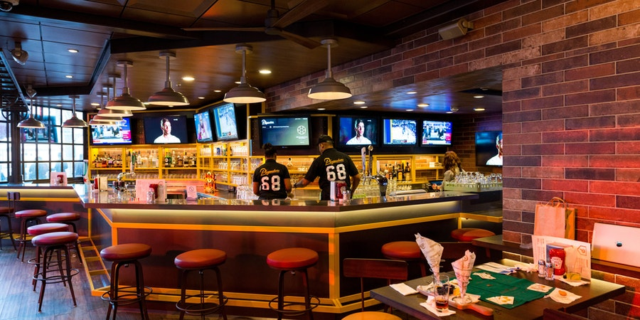 Playmakers Sports Bar & Arcade on Symphony of the Seas (Photo: Cruise Critic)