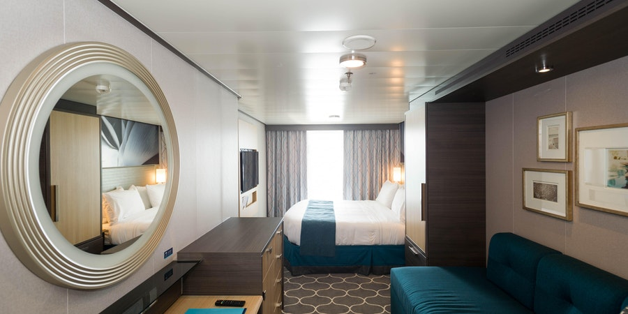 The Ocean-View Cabin with Large Balcony on Symphony of the Seas