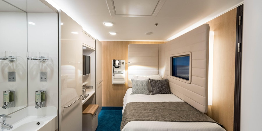 The Studio Cabin on Norwegian Bliss (Photo: Cruise Critic)