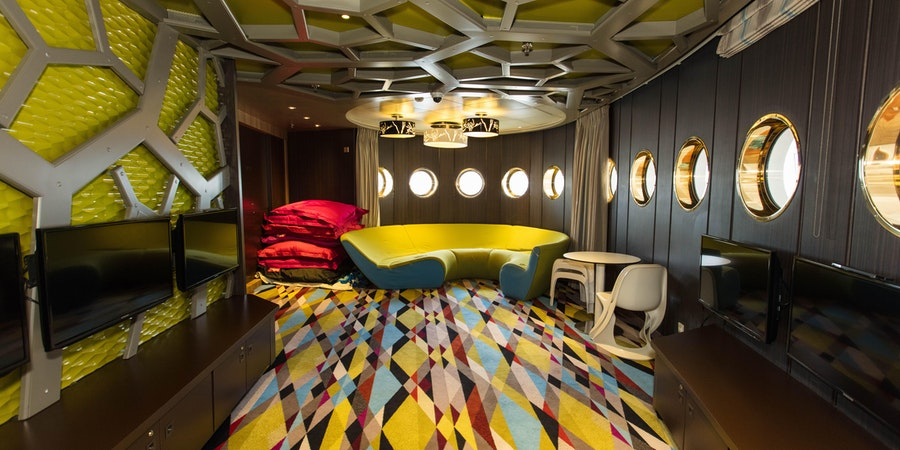 Waves Teen Center on Crystal Symphony