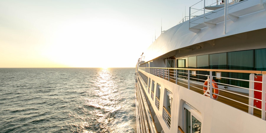 Ship Exterior on Seabourn Ovation