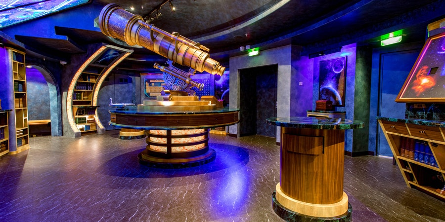 The Observatorium Escape Room on Independence of the Seas