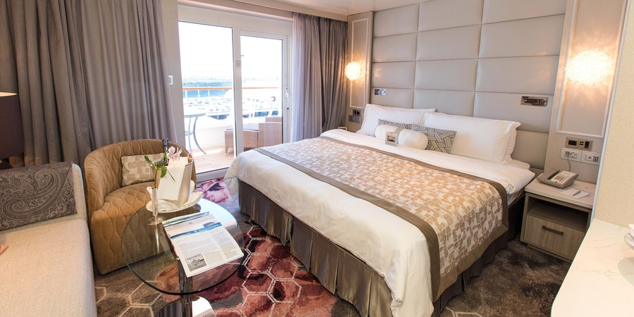 The Seabreeze Penthouse on Crystal Symphony (Photo: Cruise Critic)