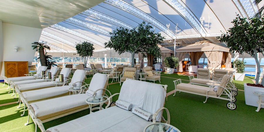 The Sanctuary on Ruby Princess (Photo: Cruise Critic)