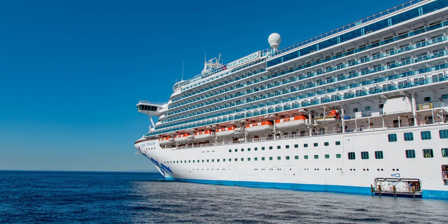 Ship Exterior on Ruby Princess